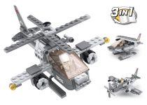 Sluban Army 9into1 M38-B0537G Útočná helikoptéra 3v1