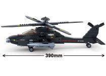 Dřevěné hračky Sluban Army M38-B0511 AH-64 APACHE helikoptéra
