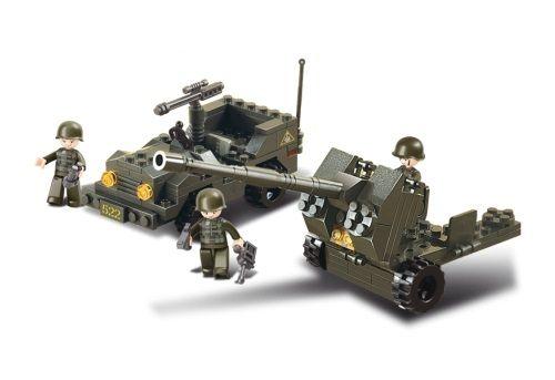 Dřevěné hračky Sluban Army M38-B5900 Protiletecká hlídka