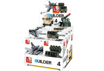 Sluban Builder M38-B05396 4 Army 1ks písmenko A