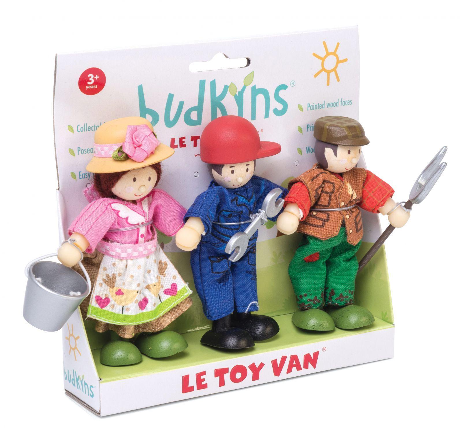 Dřevěné hračky Le Toy Van Postavičky farmáři