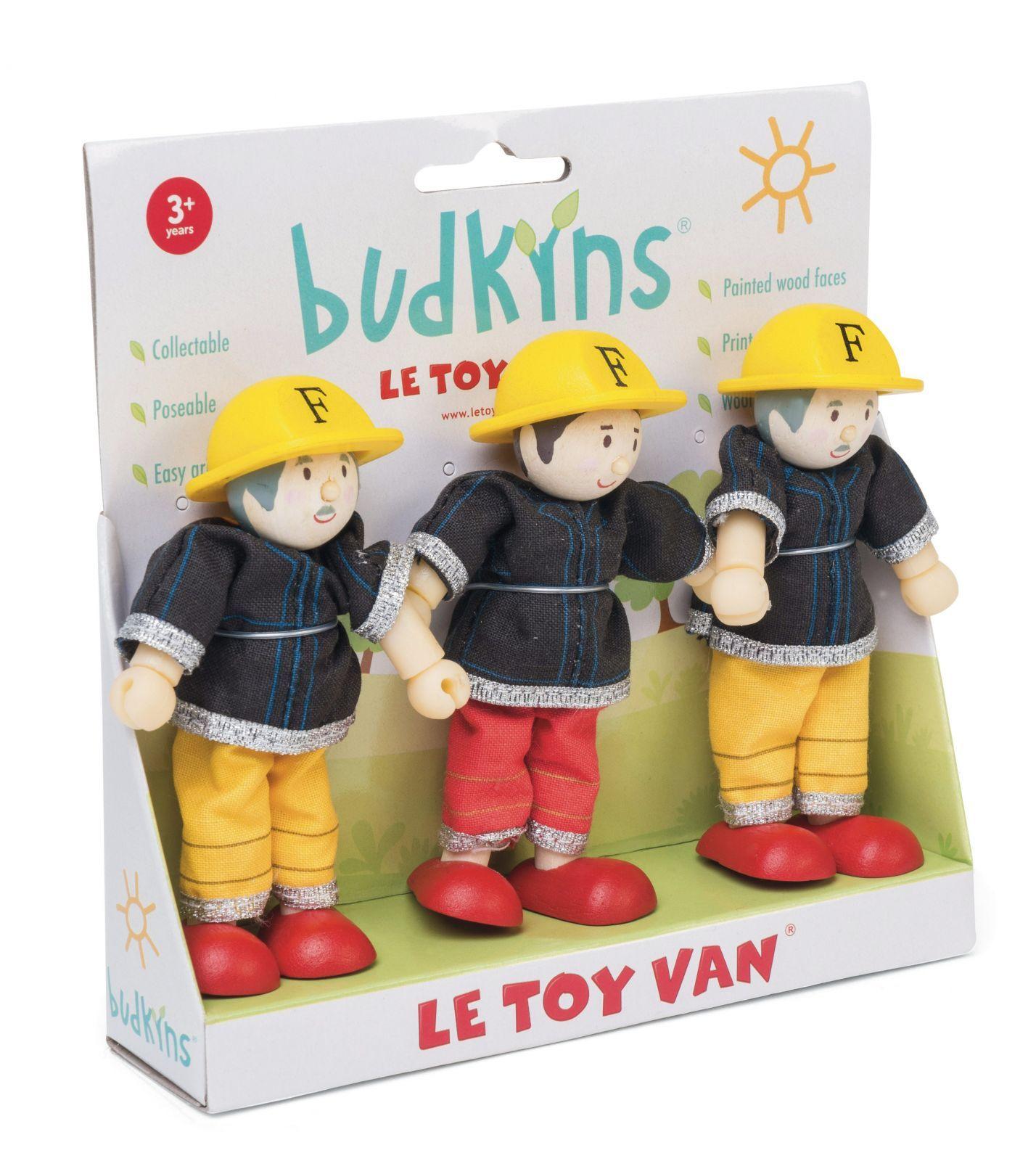 Dřevěné hračky Le Toy Van Postavičky hasiči