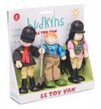 Dřevěné hračky Le Toy Van Postavičky jezdci ke koníčkům