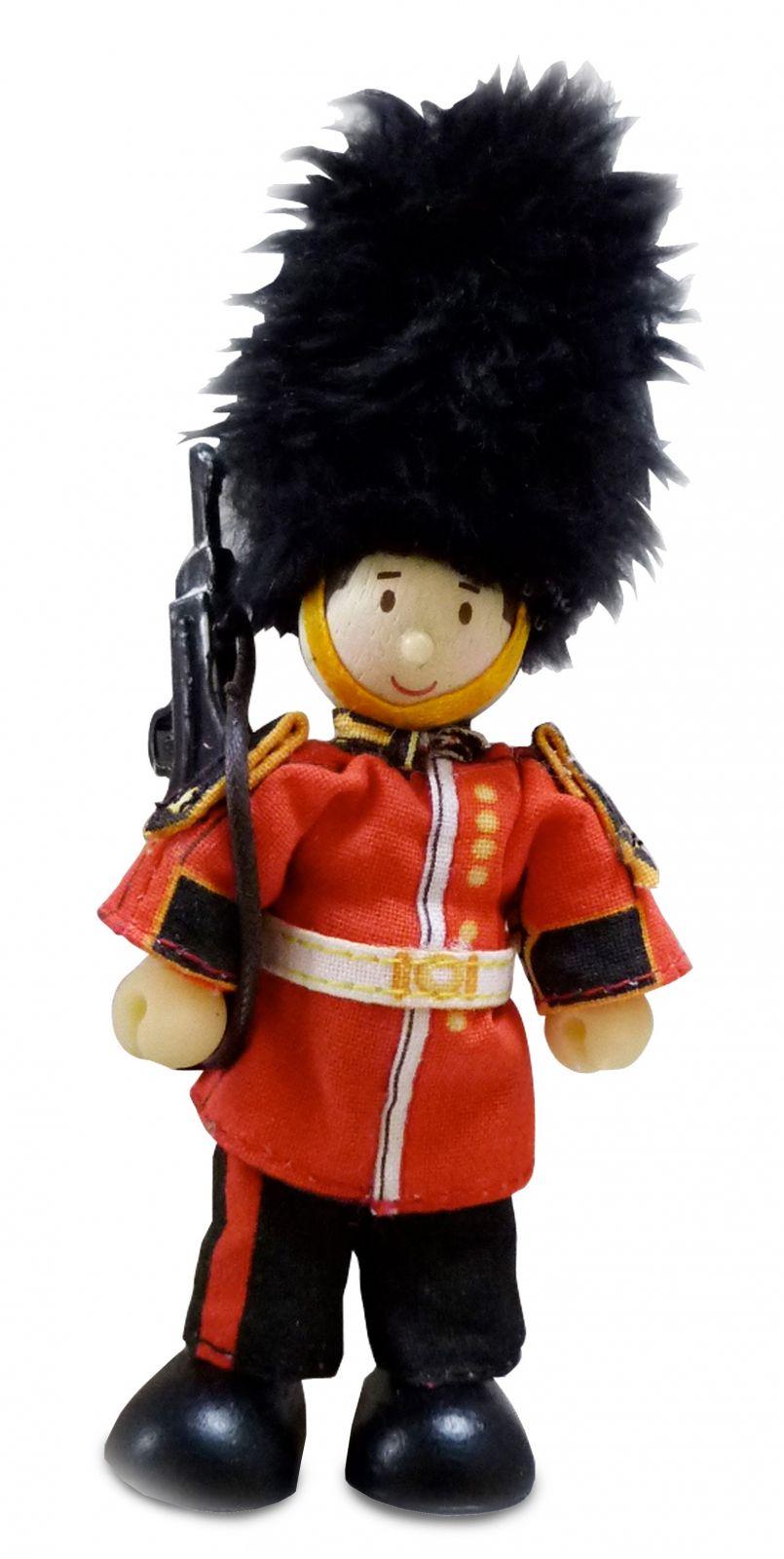 Dřevěné hračky Le Toy Van Postavička královská stráž James