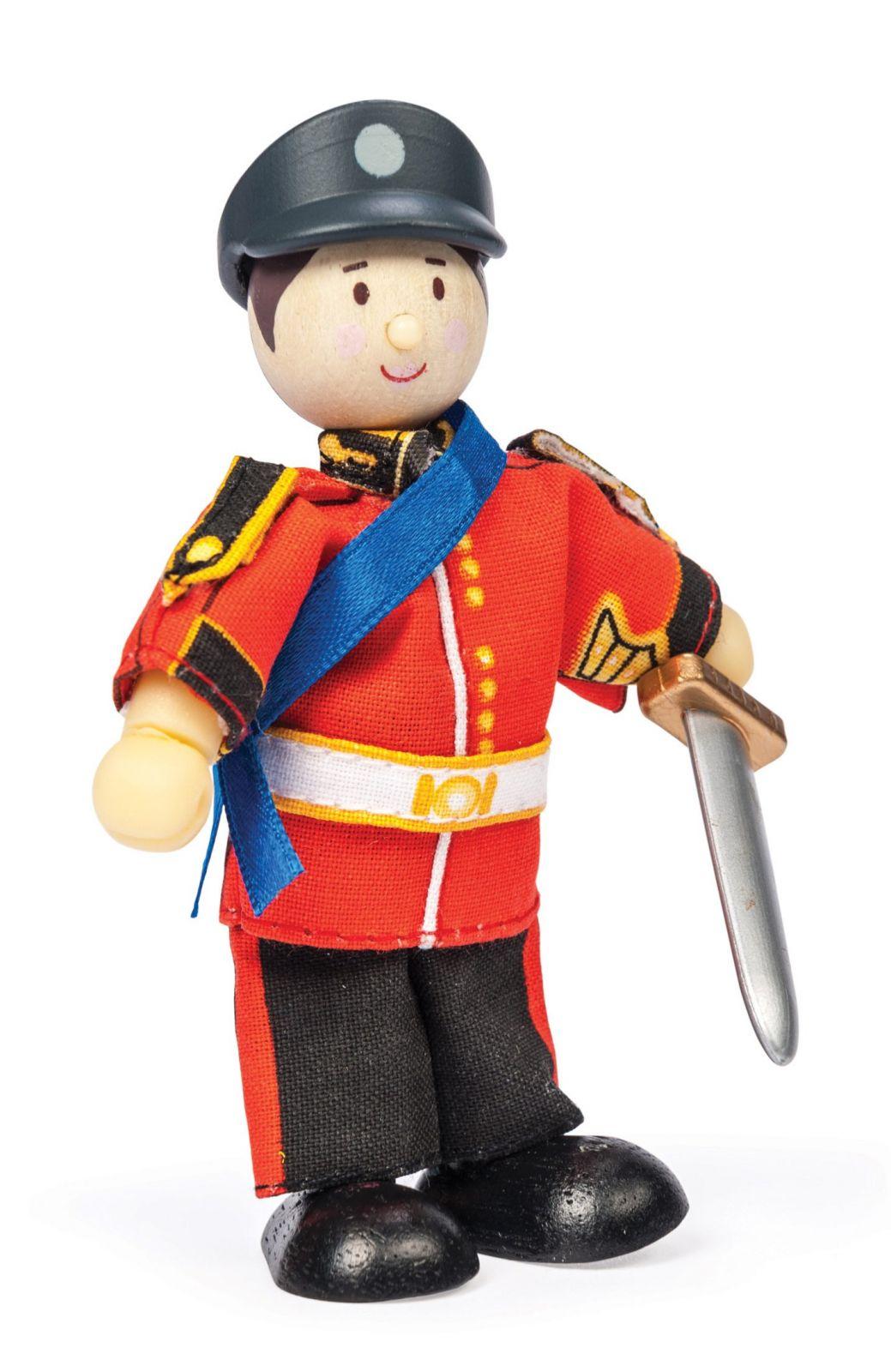 Dřevěné hračky Le Toy Van Postavička princ Anglie