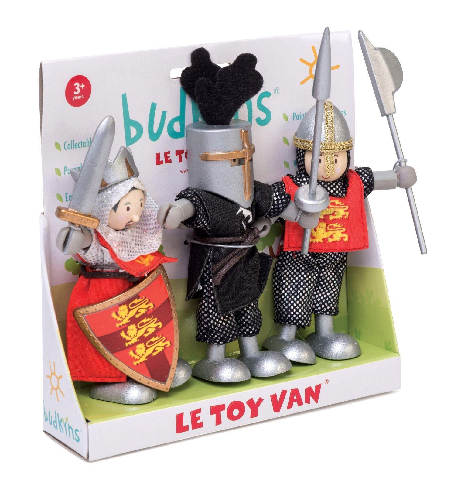 Dřevěné hračky Le Toy Van Postavičky rytíři