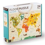 Petitcollage Podlahové puzzle náš svět