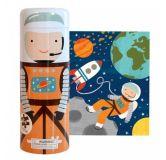 Petitcollage Puzzle v tubě Ve vesmíru