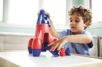 Dřevěné hračky Green Toys - Raketa modrá
