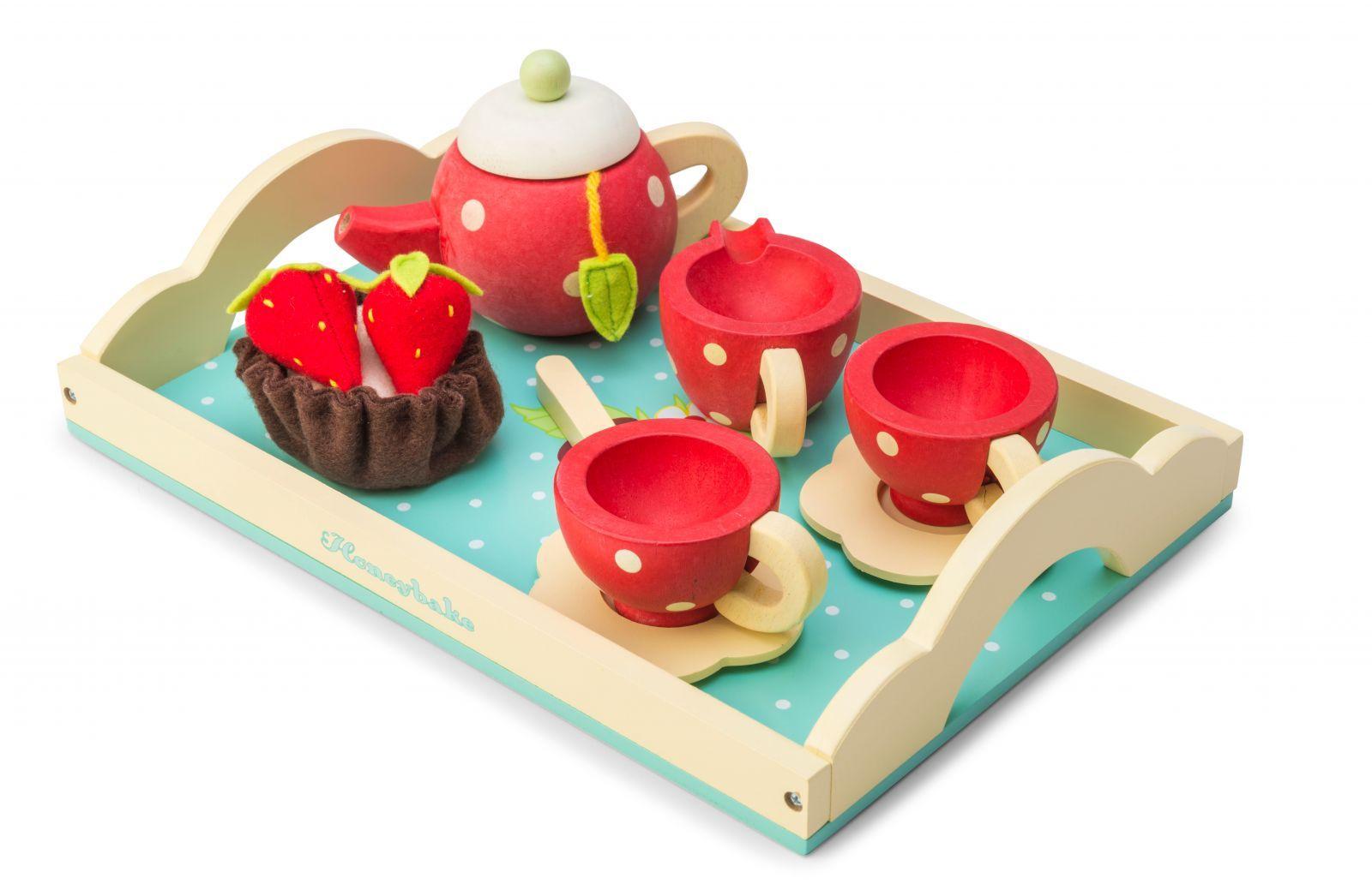Dřevěné hračky Le Toy Van Čajový set Honeybake