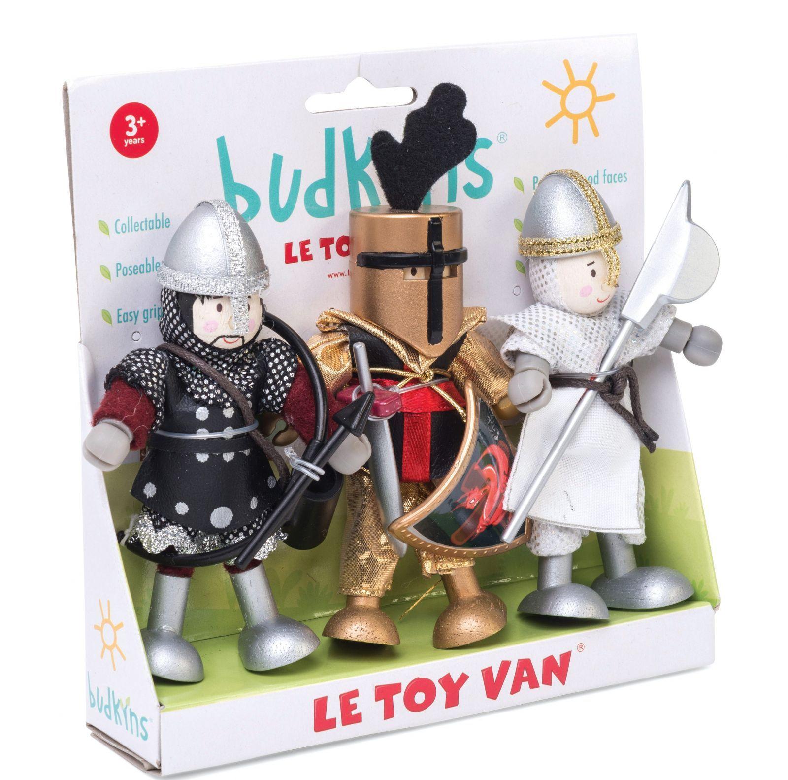 Dřevěné hračky Le Toy Van Postavičky hradní rytíři