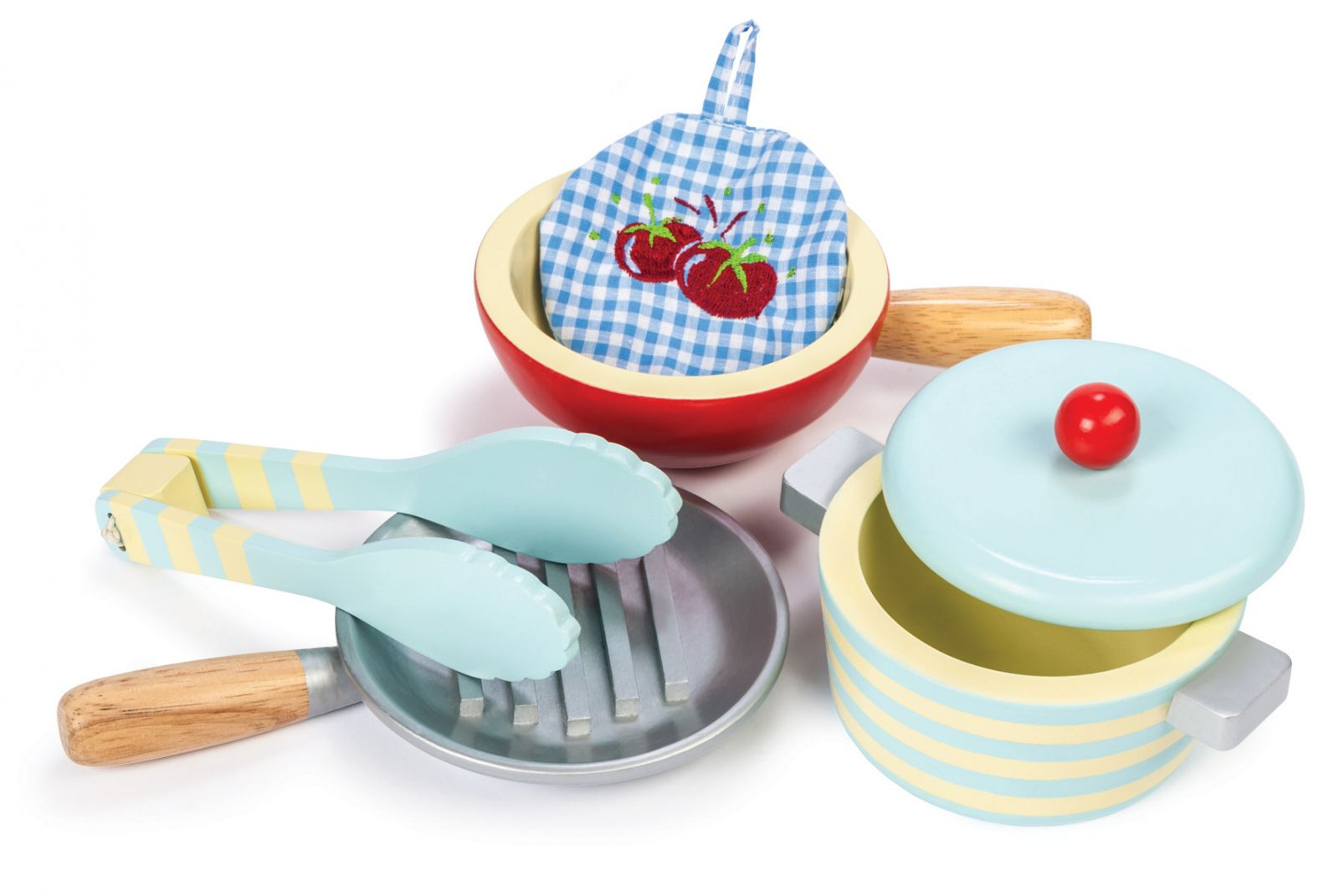 Dřevěné hračky Le Toy Van Sada nádobí