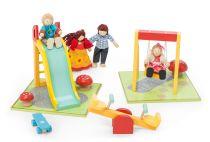 Dřevěné hračky Le Toy Van Sada dětské hřiště