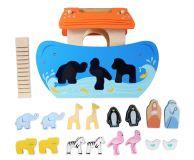Dřevěné hračky Le Toy Van Vkládačka Noemova archa