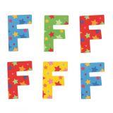 Bigjigs Toys hvězdičkové písmenko F