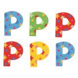 Bigjigs Toys hvězdičkové písmenko P