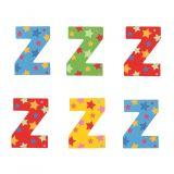 Bigjigs Toys hvězdičkové písmenko Z