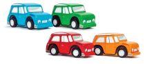 Le Toy Van barevné autíčko 1ks červená