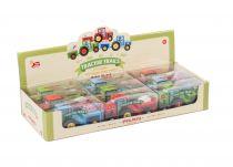 Dřevěné hračky Le Toy Van Barevný traktor 1ks