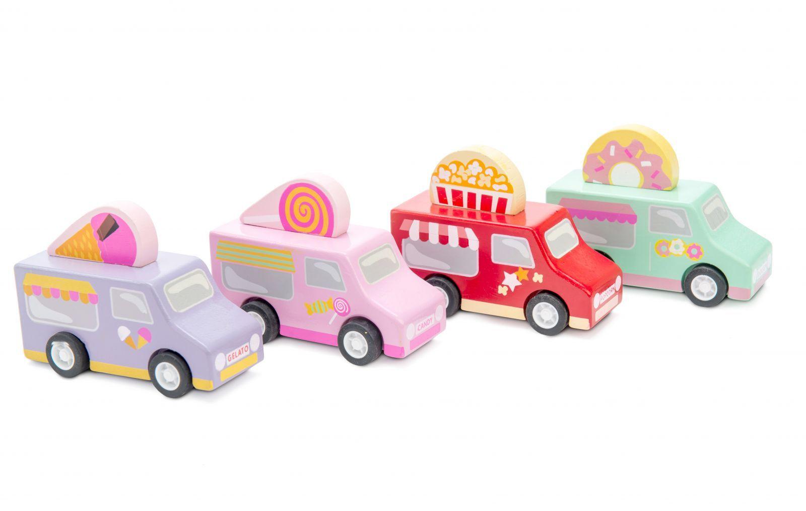 Dřevěné hračky Le Toy Van Cukrářský vůz 1ks