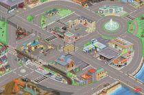 Dřevěné hračky Le Toy Van Hrací koberec PLAYMAT město 150x100 cm