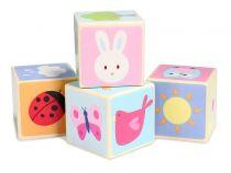 Le Toy Van Petilou obrázkové kostky