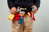 Dřevěné hračky Le Toy Van Sada nářadí s páskem