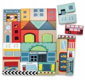 Le Toy Van Skládací kostky město