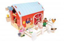 Dřevěné hračky Le Toy Van Stodola červená
