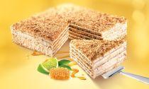 Citrónový medový dort Marlenka
