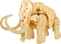 Dřevěné hračky RoboTime Robotická hračka mamut sestavený