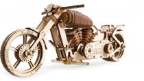 Ugears 3D dřevěné mechanické puzzle Motocykl