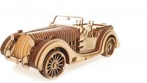 Ugears 3D dřevěné mechanické puzzle VM-01 Auto (roadster)