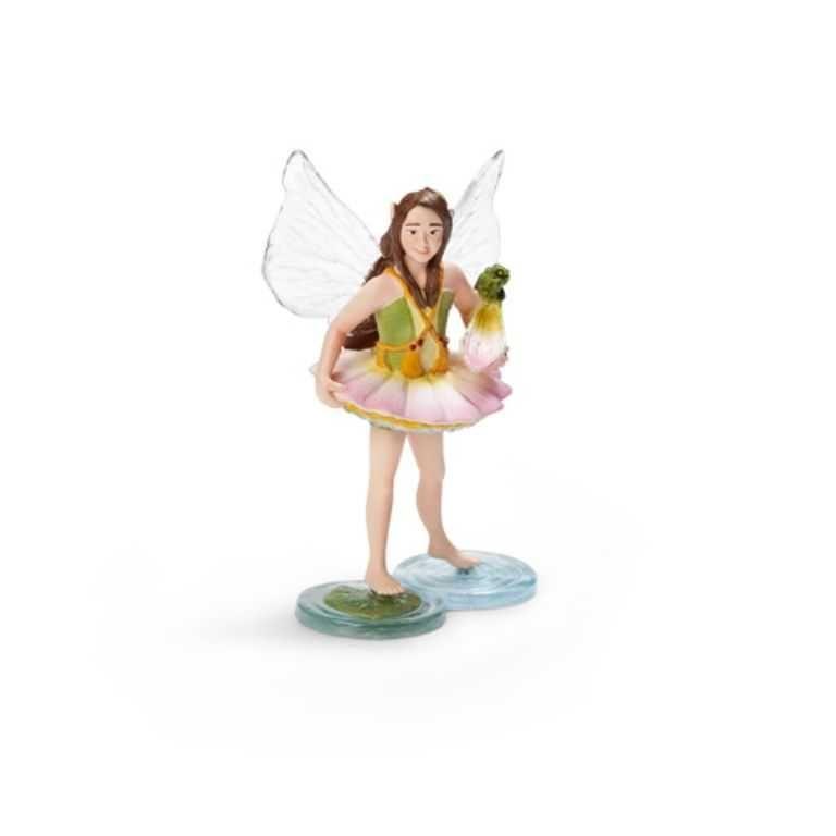 Dřevěné hračky Figurka Schleich - Elfí víla lotosový květ