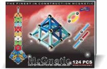 Magnetická stavebnice 124 ks