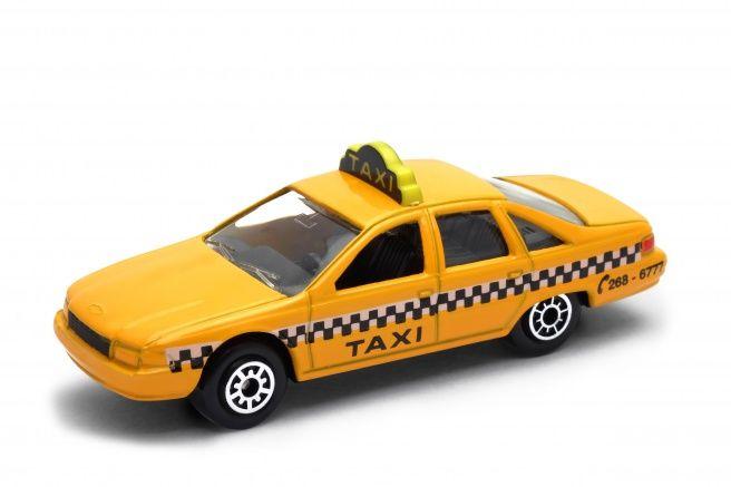 Dřevěné hračky Welly - Chevrolet Caprice (1991) TAXI model 1:60