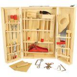 Dřevěné hračky Bigjigs Toys Kufřík s nářadím Junior