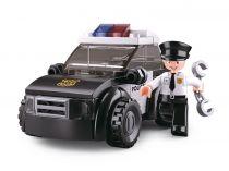 Sluban Policie 4into1 M38-B0638D Hlídkový vůz