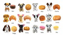 Dřevěné hračky Sweet Pups Plyšové vonící štěňátko 1ks Pastry Pup Mikro Trading