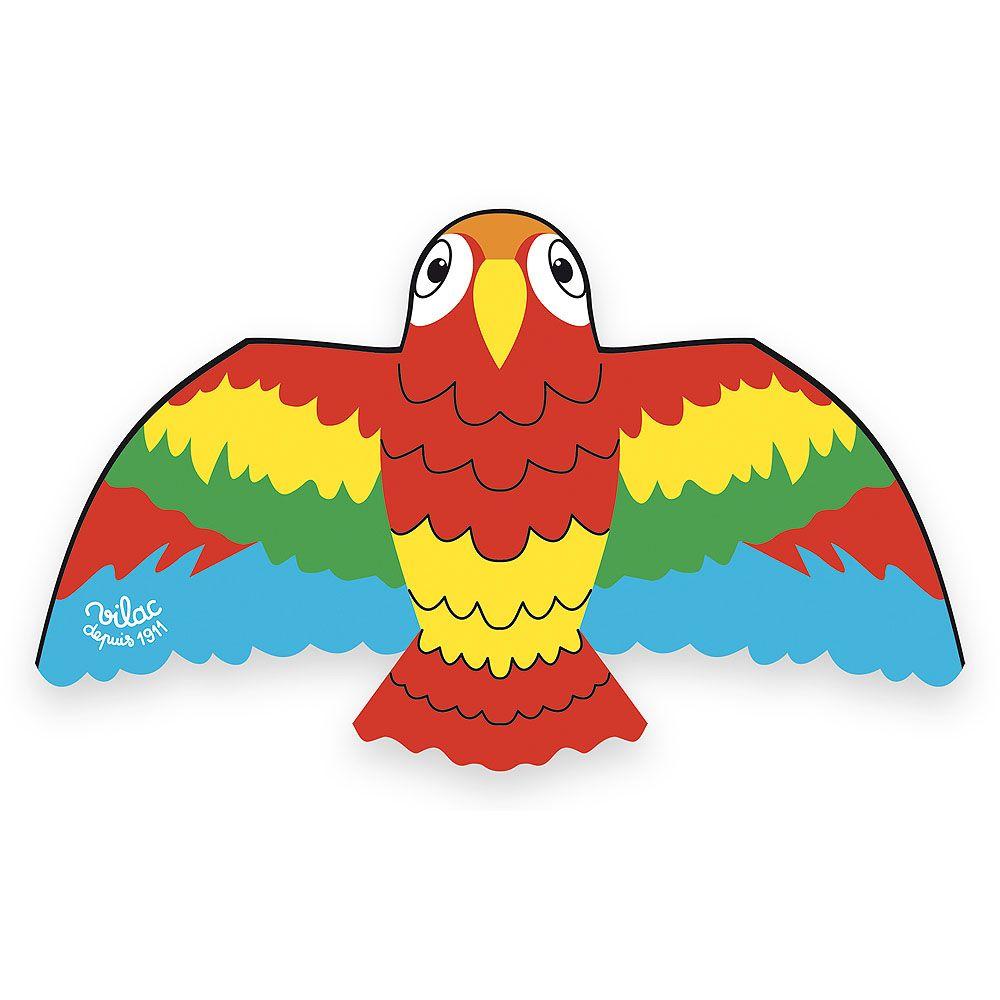Dřevěné hračky Vilac Létající drak Papoušek