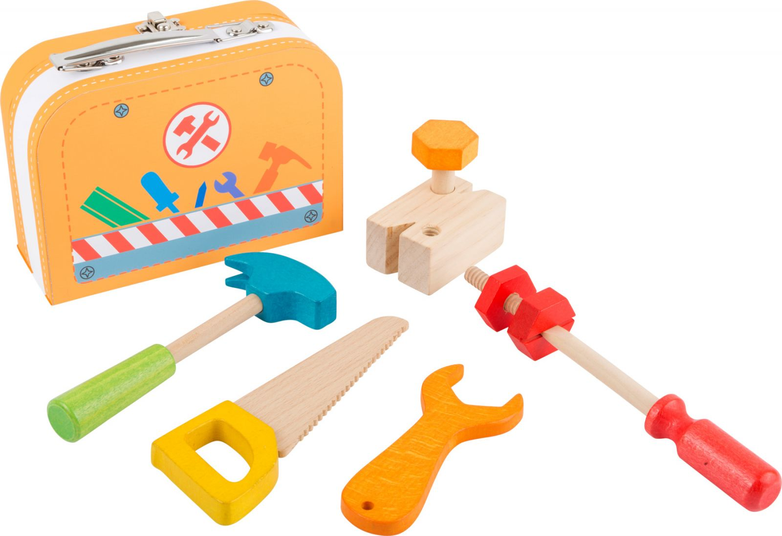 Dřevěné hračky Small Foot Dřevěné nářadí v kufříku Small foot by Legler
