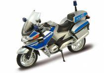 Welly - Motocykl BMW R1200RT Police model 1:18 bílý