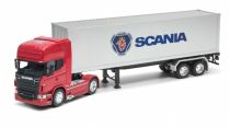 Welly SCANIA V8 R730 tractor trailer1:32