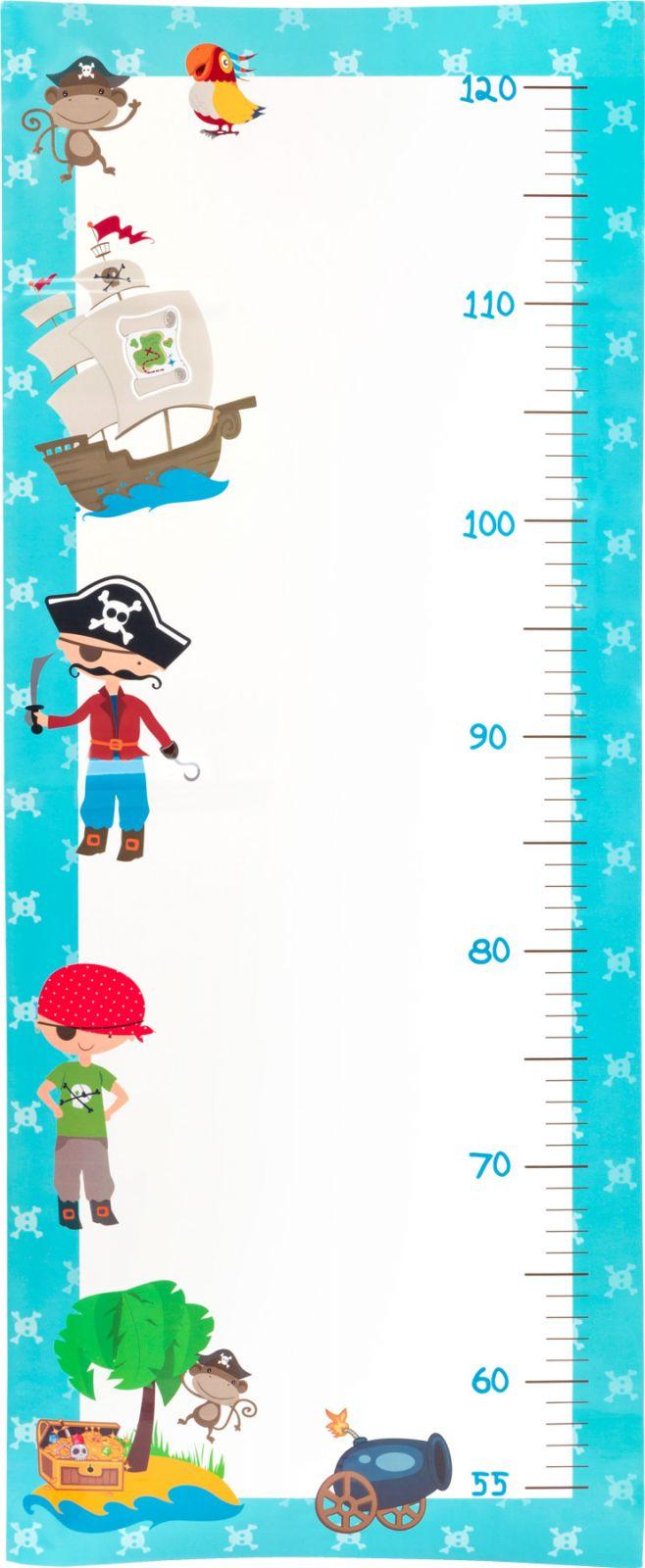 Dřevěné hračky Small Foot Měřící metr piráti Small foot by Legler
