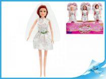 Panenka nevěsta s hnědými vlasy
