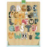 Vilac Regál pro zvířátkovou abecedu