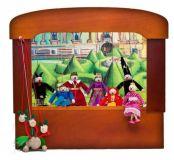 Dřevěné hračky - Dědečkovo loutkové divadlo