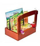 Dřevěné hračky Dřevěné hračky - Dědečkovo loutkové divadlo Gerlich