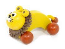 Jezdící zvířátka na kolečkách – Lev