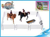 Koníci s jezdci a doplňky